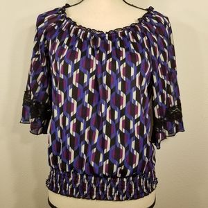 AGB womans petite sz small top